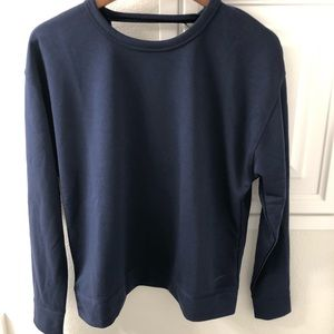 Nike Dri-Fit Backless Sweatshirt